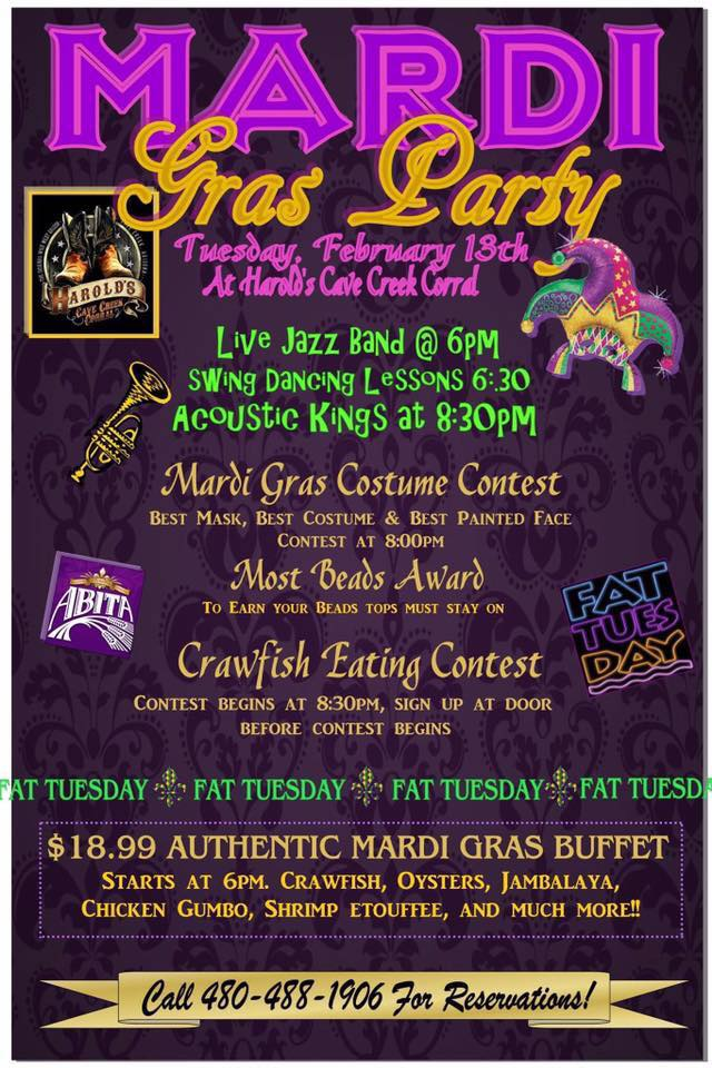 Mardi Gras at Harold's