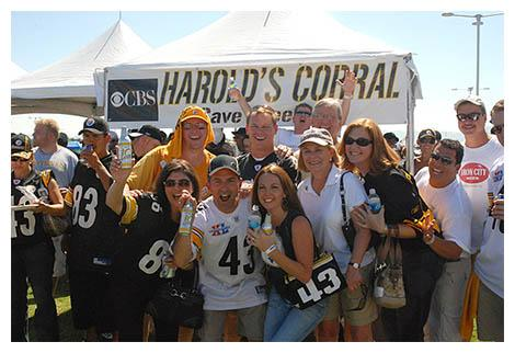 harolds steeler fans